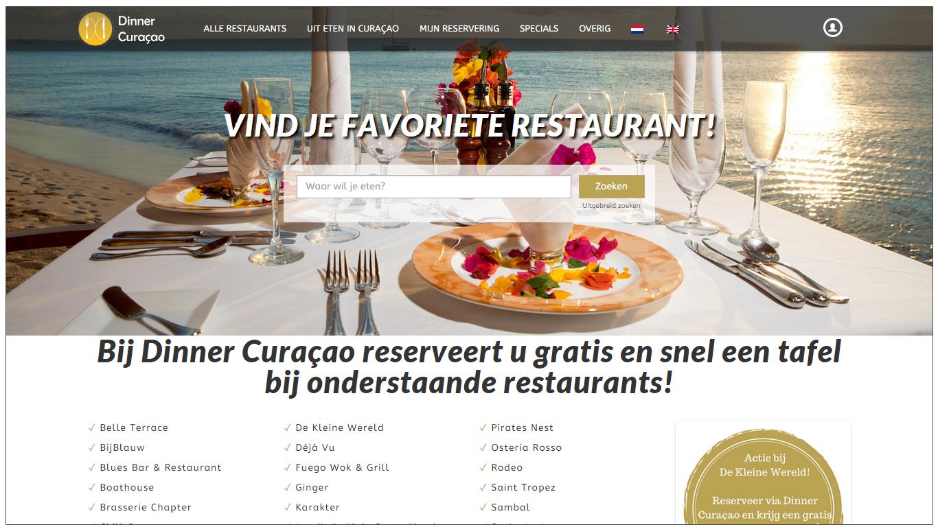 Dinner Curaçao